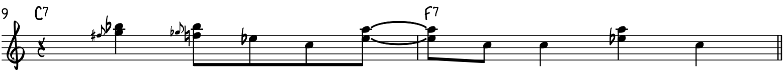 Easy funky blues piano riff using more blues slides and harmonized notes