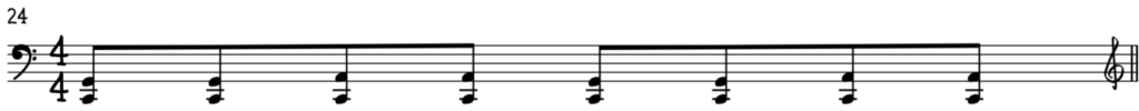 Easy blues left hand shuffle for piano in C will sound good on any blues tune
