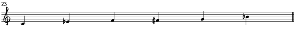 The C blues scale is all you need for blues improvisation over any blues chord in C for piano