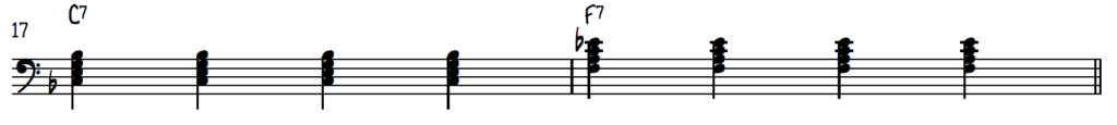Mistakes Blues Pianists Make 4-on-the-floor bass