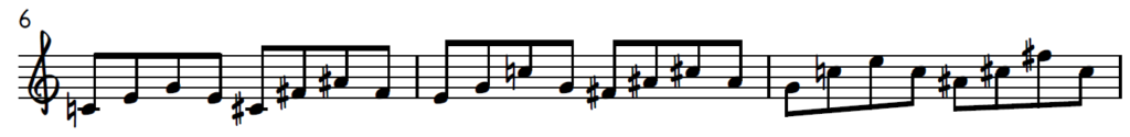 Triad pair from Diminished Dominant Scale