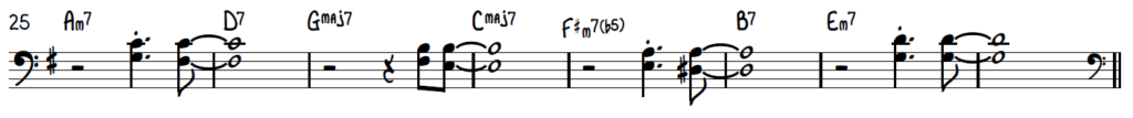 Jazz Piano Lead Sheet Chord Pops - Shell Voicings