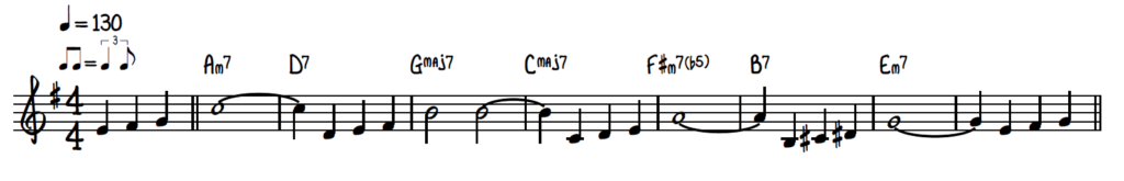 How to play Autumn Leaves lead sheet jazz piano