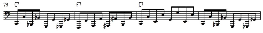 Boogie Woogie Bass Pattern