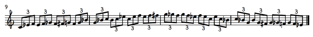Blues Piano Exercise - Triplet Pattern