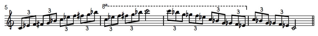 Blues Piano Exercise - Triplets