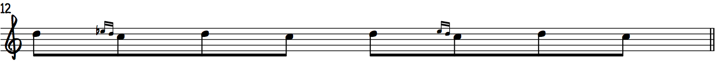 Turns using the Gospel Scale beginner jazz piano scale