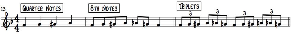 3 Essential Rhythms for Beginner Jazz Piano Improv in F Position 1