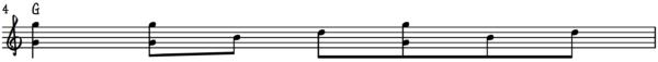 G Major Forward Rag Roll Ragtime Piano