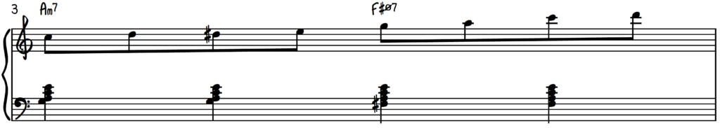 8th Note Exercise starting on C