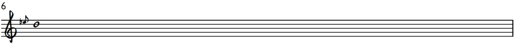 Blues piano down-slide on the 4th note D