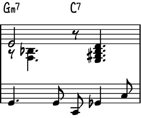 Jingle Bells jazz piano chord pops