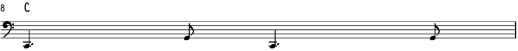 Open swing jazz piano rhythm