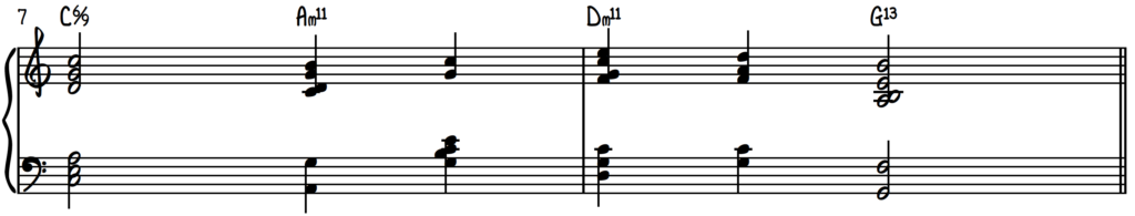 Jazz piano harmony pillar #3, melody with quartal and cluster voicings