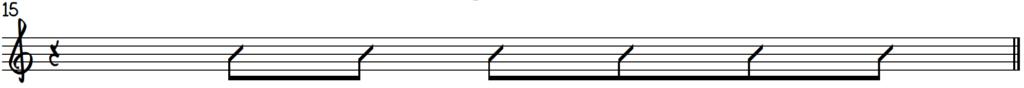 Blues rhythm template 2