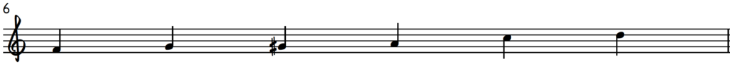 F major blues scale - F gospel scale to create happiness at the piano