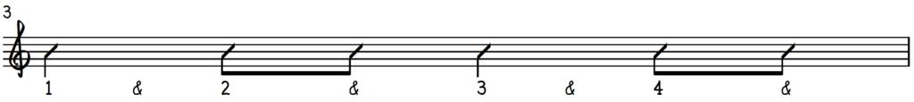 Happy monday left hand accompaniment rhythm on piano