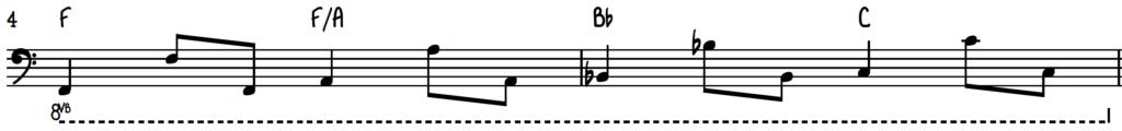 Happy monday left hand beginner accompaniment on piano