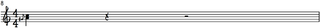 Lower position A harmonized up-slide for piano improv