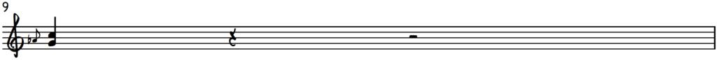 Lower position G harmonized down-slide for piano improv