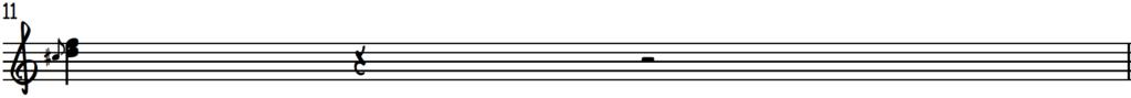 Upper position D harmonized up-slide for piano improv