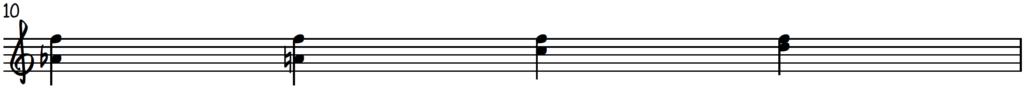 Upper position harmonized line technique using the major blues scale for piano improv