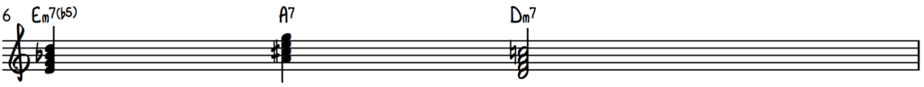 2-5-1 chord progression in the key of d minor on piano in the contemporary gospel ad r&b style