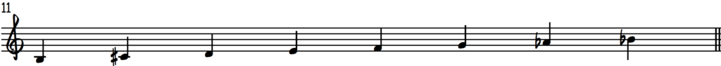 B diminished scale for jazz piano improv on G7 chord