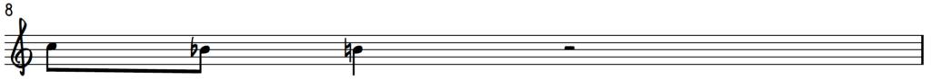 Upper enclosure on B for jazz piano improv