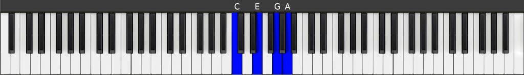 C Major 6 chord