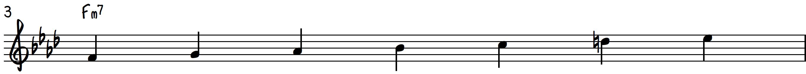 F Dorian Scale for Piano