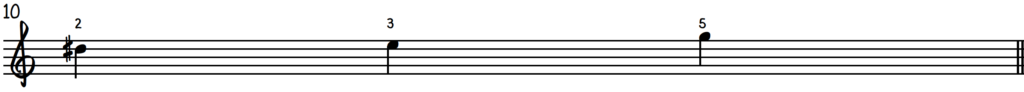 Grip 1 notation for beginner jazz piano