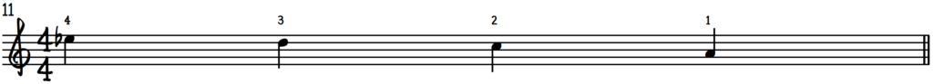 Grip 2 notation for beginner jazz piano