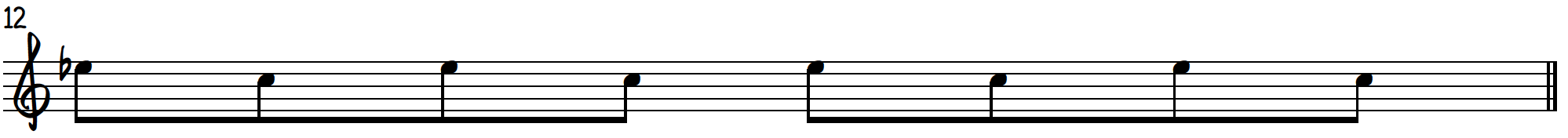 Grip 3 single note exercise to practice blues piano licks