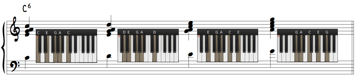 Jazz Piano Harmonize Melody George Shearing