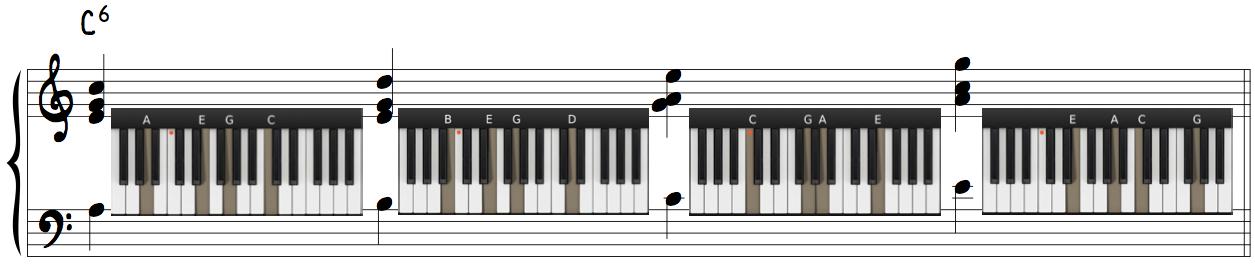 Advanced Jazz Piano Melodic Harmonization Drop 2 Voicings