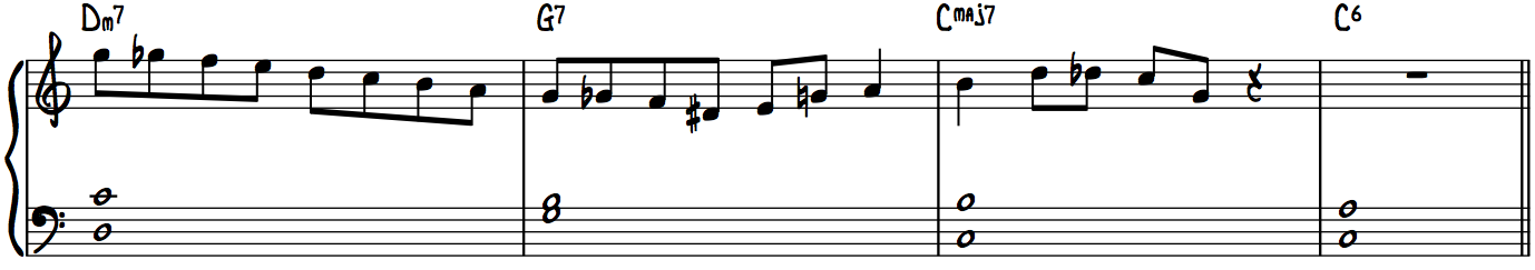 Must-Know Jazz Piano Lick 1