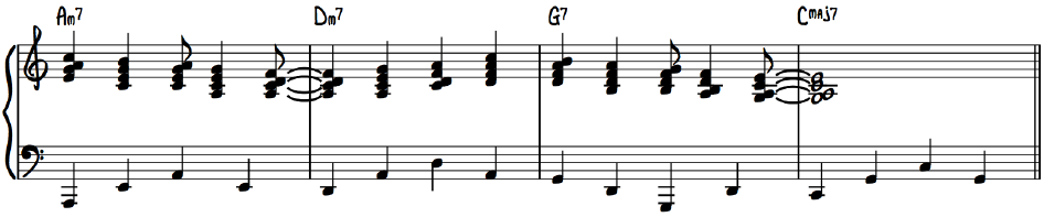 Advanced Jazz Piano Melodic Harmonization George Shearing Block Chord