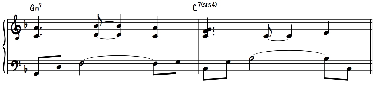 Melodic Filler Line Harmonized in 6ths