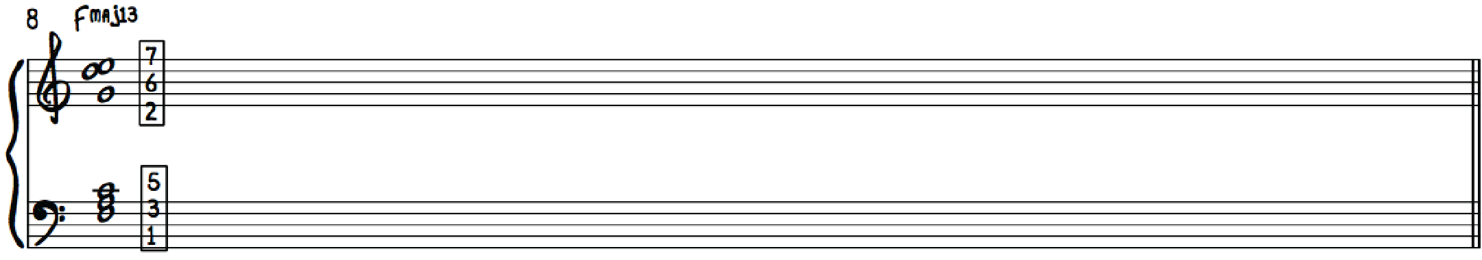 The New F Major with 2-6-7 Trick Jazzy