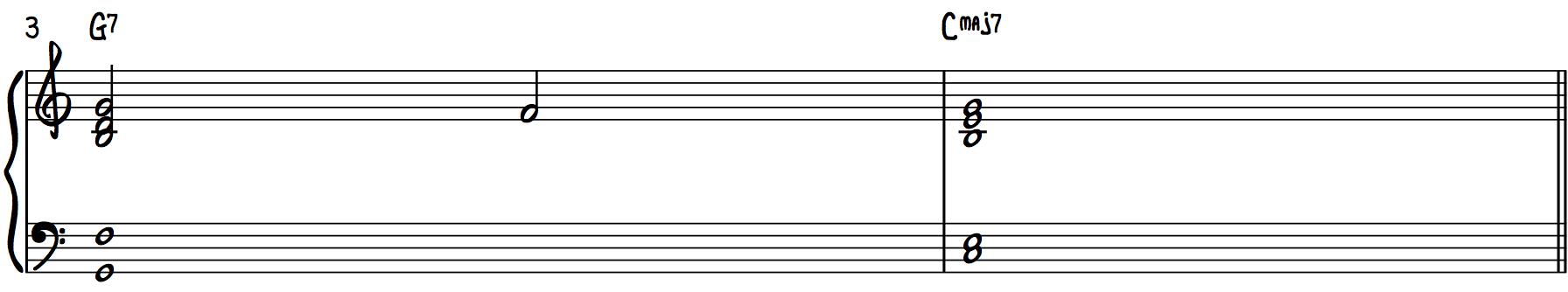 Barbershop Chords (7th Chords) Dominant V7