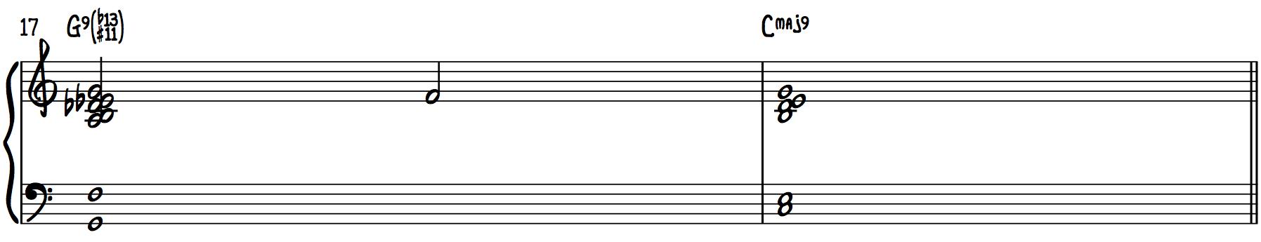Dream Chords (b13, #11 Chords)