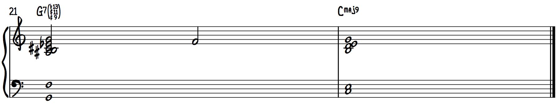 Altered Chords (b13, #11, #9 Chords) Dominant harmonize chord progression