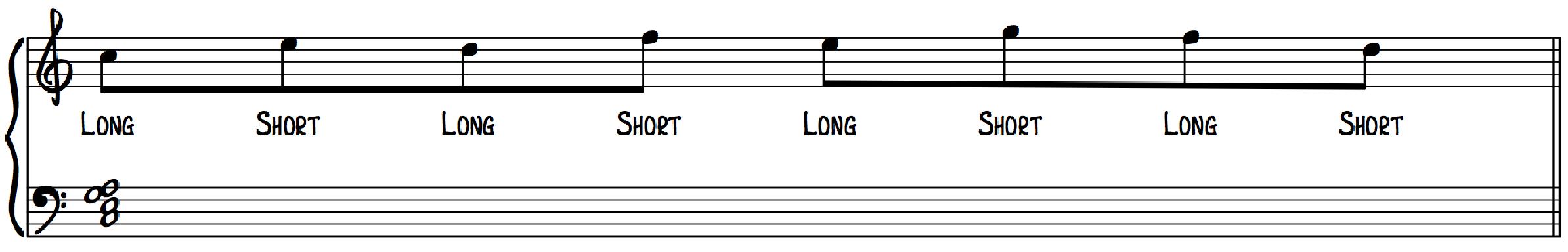 Jazz Swing Feel Exercise 1 for Jazz Piano Beginner Intermediate Advanced