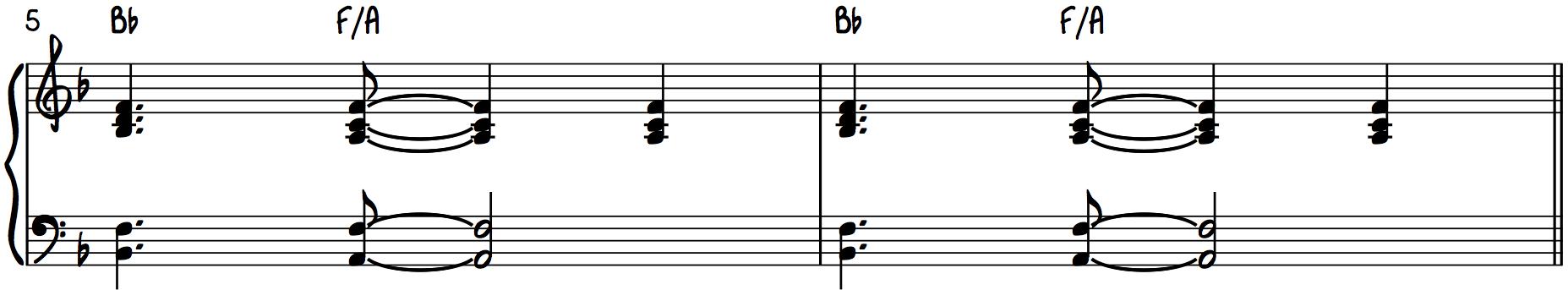 Step 1 Pro Piano Accompaniment Use Chord Inversions I6 First Inversion I63 Tonic6 Tonic63