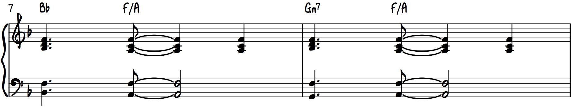 Step 2 Add Chord Substitute iim7 2m7 subdominant walkdown plagal walkdown