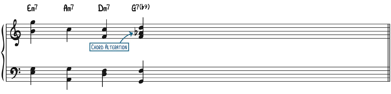 Christmas Song Chord Alteration