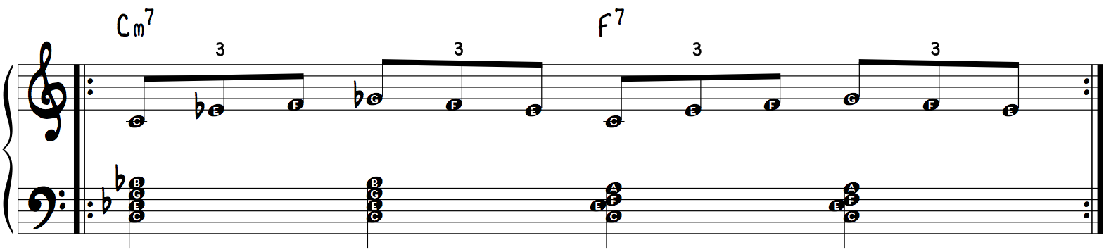 Triplet Blues Exercise Right Hand
