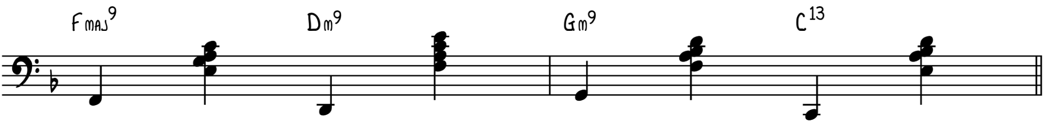Turnaround Intermediate Accompaniment Pattern
