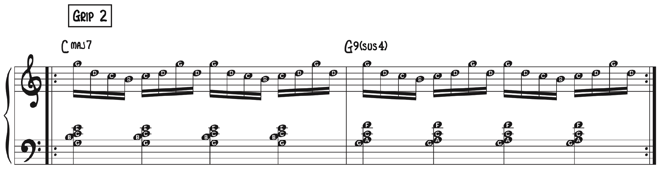 16th Note Exercise–Grip 2